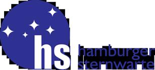 Hamburger Sternwarte logo unavailable